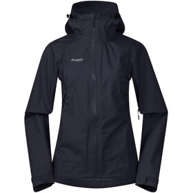 Bergans Letto Jacket Dame dark navy/aluminium